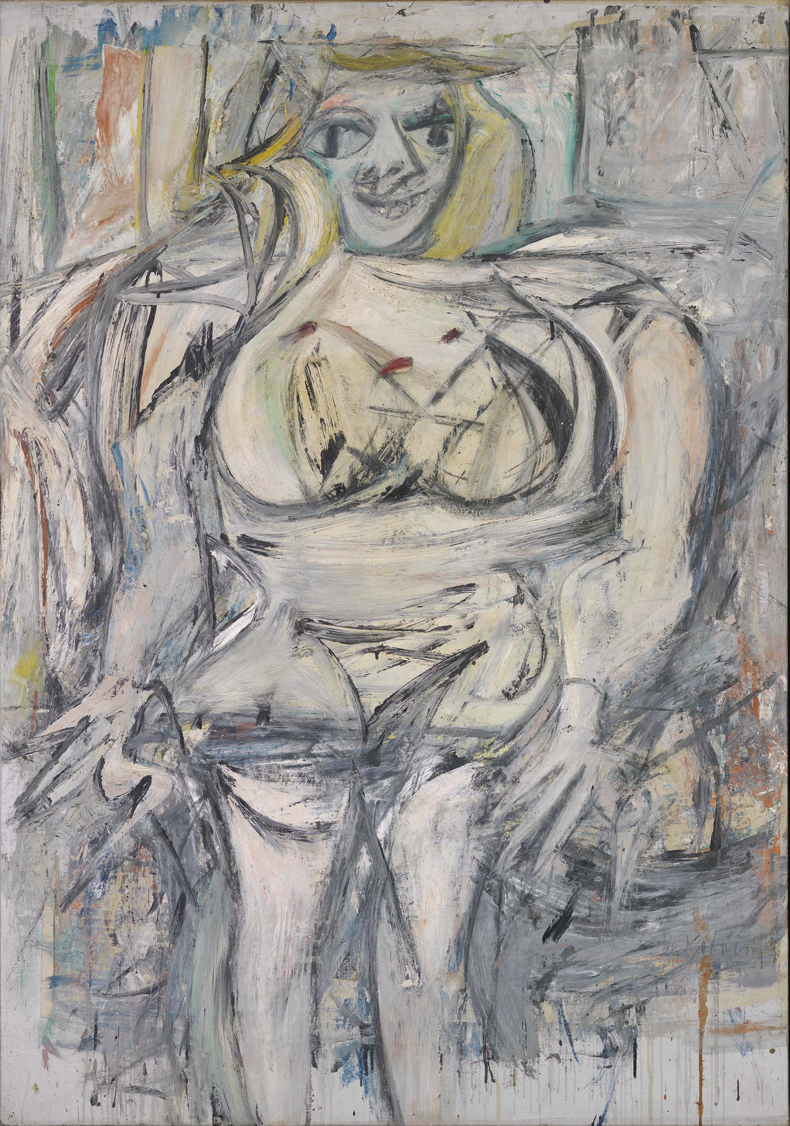 de Kooning_Woman III_1952-53