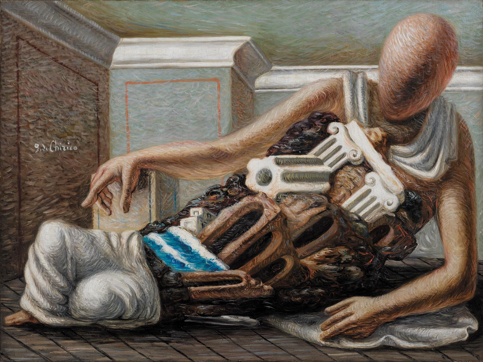 The Archaeologist by Giorgio de Chirico