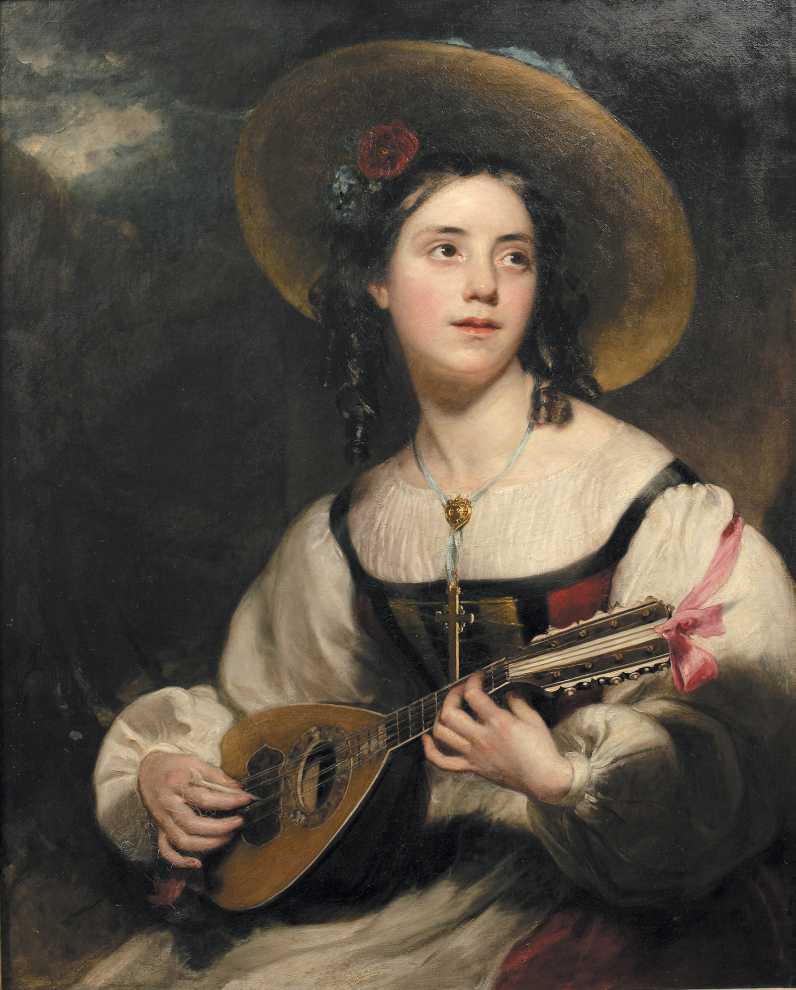 The Minstrel of Chamouni by Henry William Pickersgill