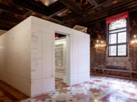 """Edmund de Waal: The Library of Exile, part of """"Psalm,"""" Ateneo Veneto, 2019"""