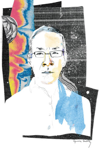 Ted Chiang; illustration by Joanna Neborsky