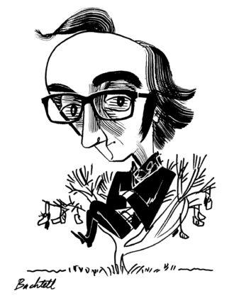 Agustín Fernández Mallo; drawing by Tom Bachtell