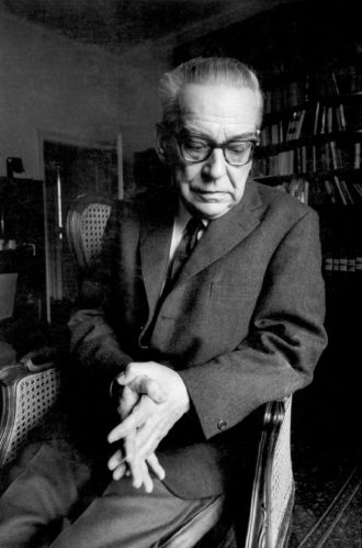 Ivo Andrić, 1971; photograph by Gilles Peress