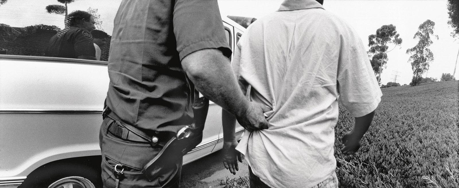 meiselas-arrest-california