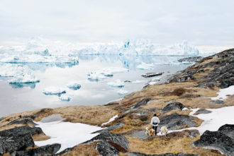 Icebergs off the coast of Ilulissat, Greenland, 2007; photograph by Tiina Itkonen from her book Avannaa, published by Kehrer in 2014