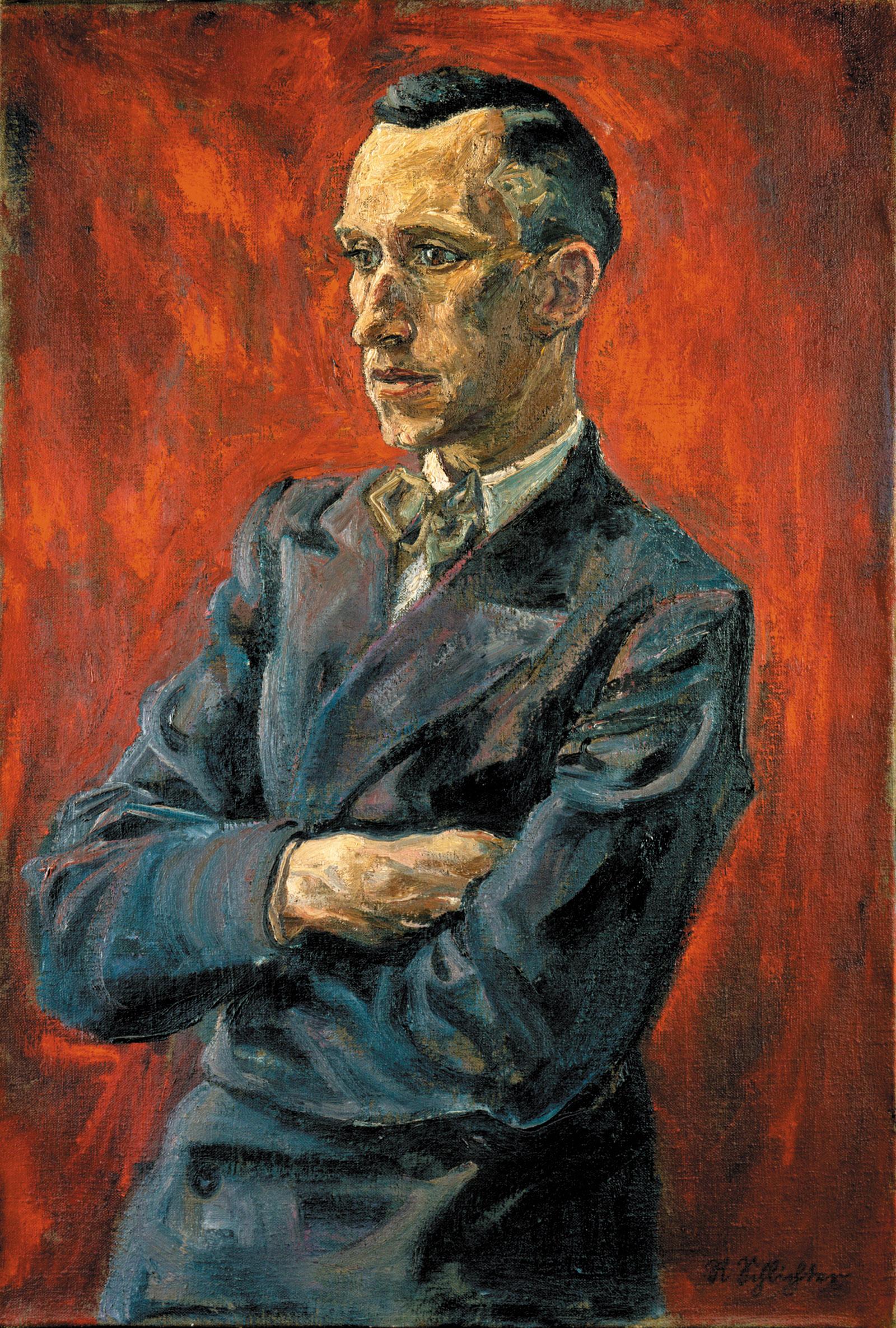 Ernst Jünger by Rudolph Schlichter