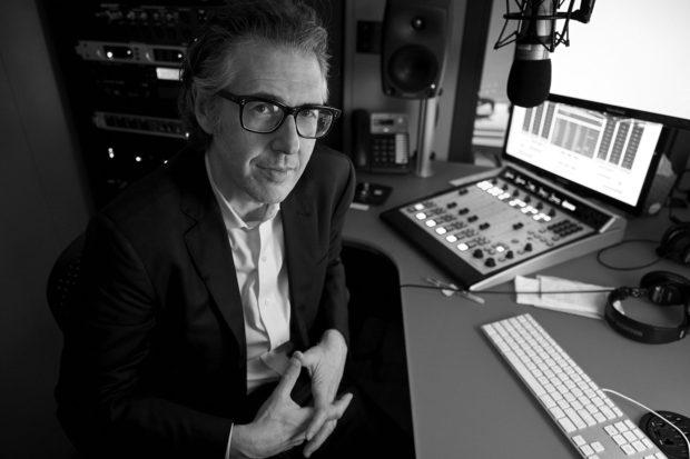 Ira Glass Portrait shoot in New York City
