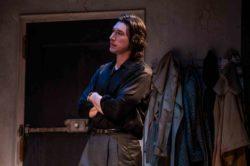 Adam Driver in Lanford Wilson's Burn This, Hudson Theatre, New York City, 2019