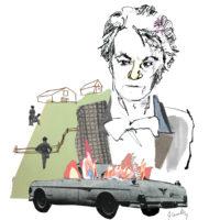 Harper Lee; illustration by Joanna Neborsky