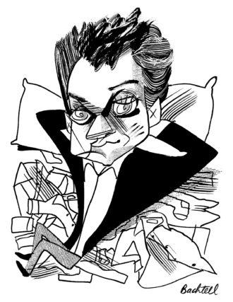 Michael Hofmann; drawing by Tom Bachtell