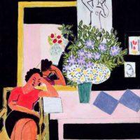 Henri Matisse: Reader on a Black Background, 1939