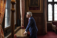 John Bercow, Speaker of the House of Commons, at the Palace of Westminster, London, May 24, 2019