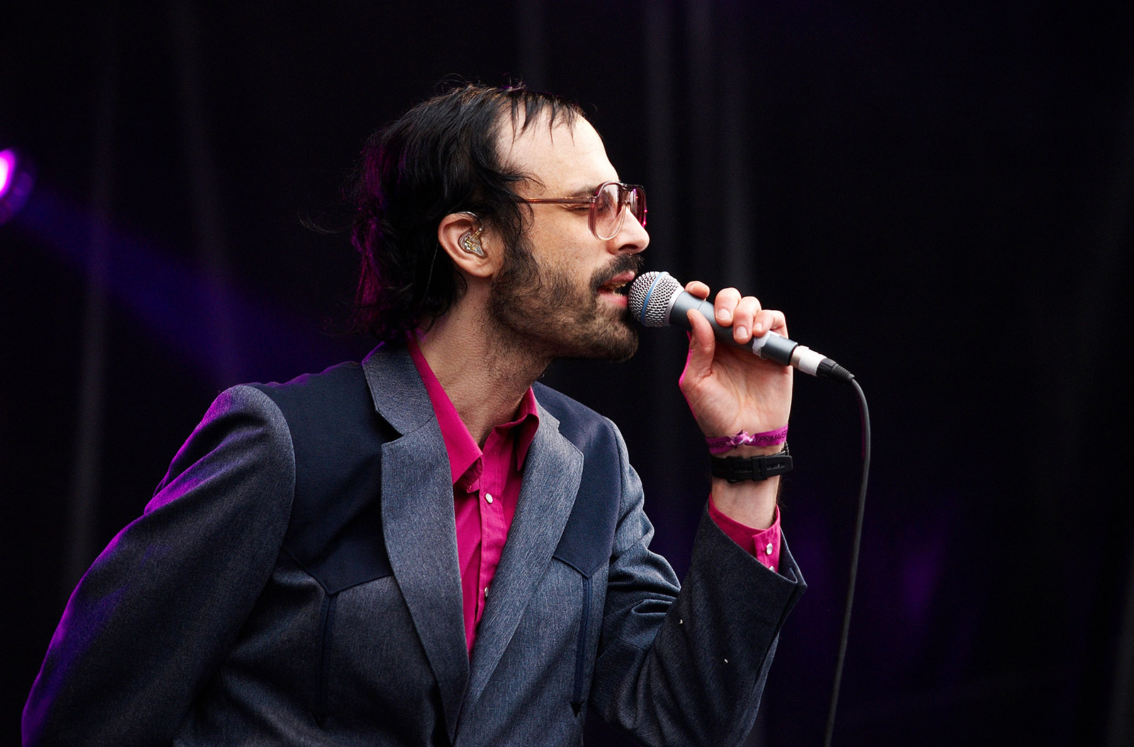 David Berman performing with the Silver Jews, Barcelona, Spain, 2008