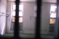 A cell at Evin Prison, Tehran, Iran, 1986