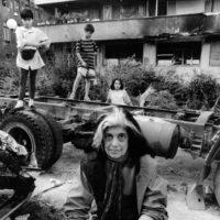 Susan Sontag, Sarajevo, Bosnia, 1993