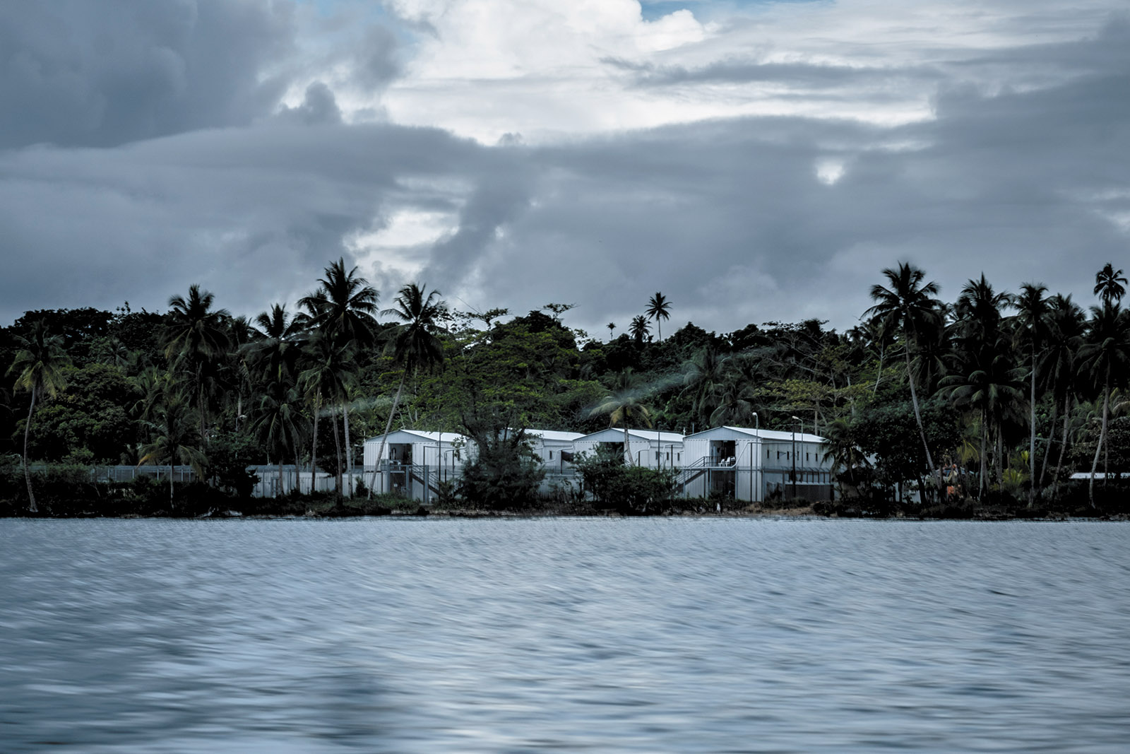 An Australian-run camp where asylum-seekers who try to reach Australia by boat are detained, Manus Island, Papua New Guinea, November 2016