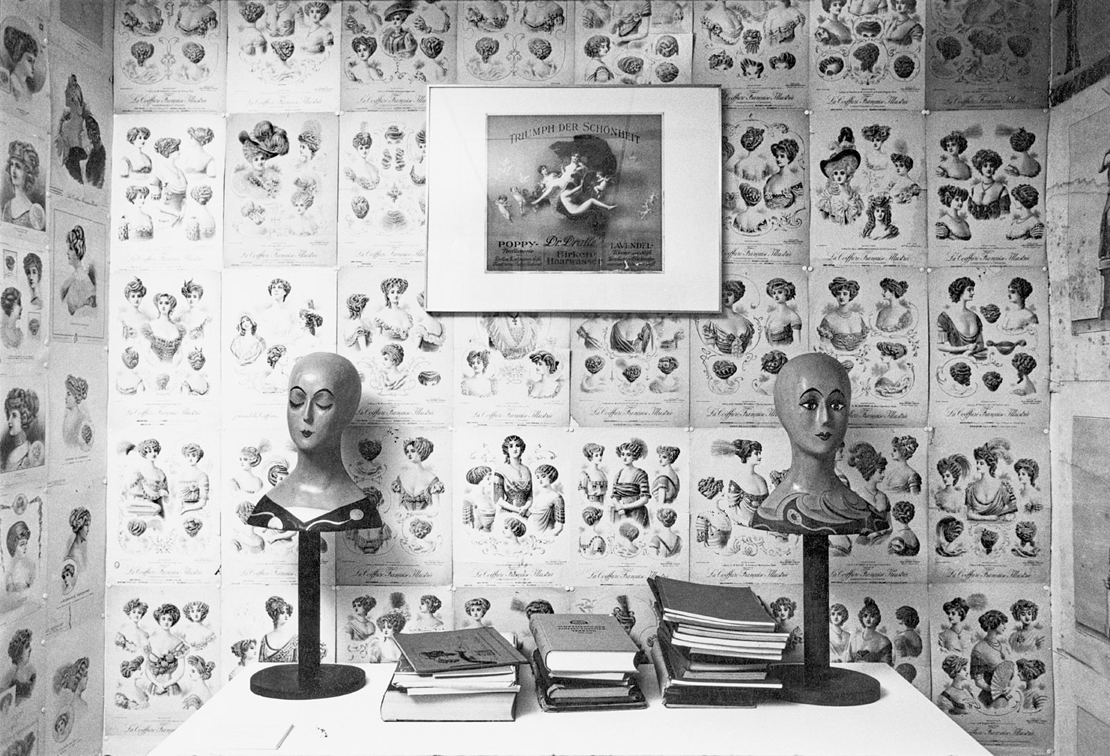 Installation view of Harald Szeemann's 'Grandfather: A Pioneer Like Us,' Bern, 1974