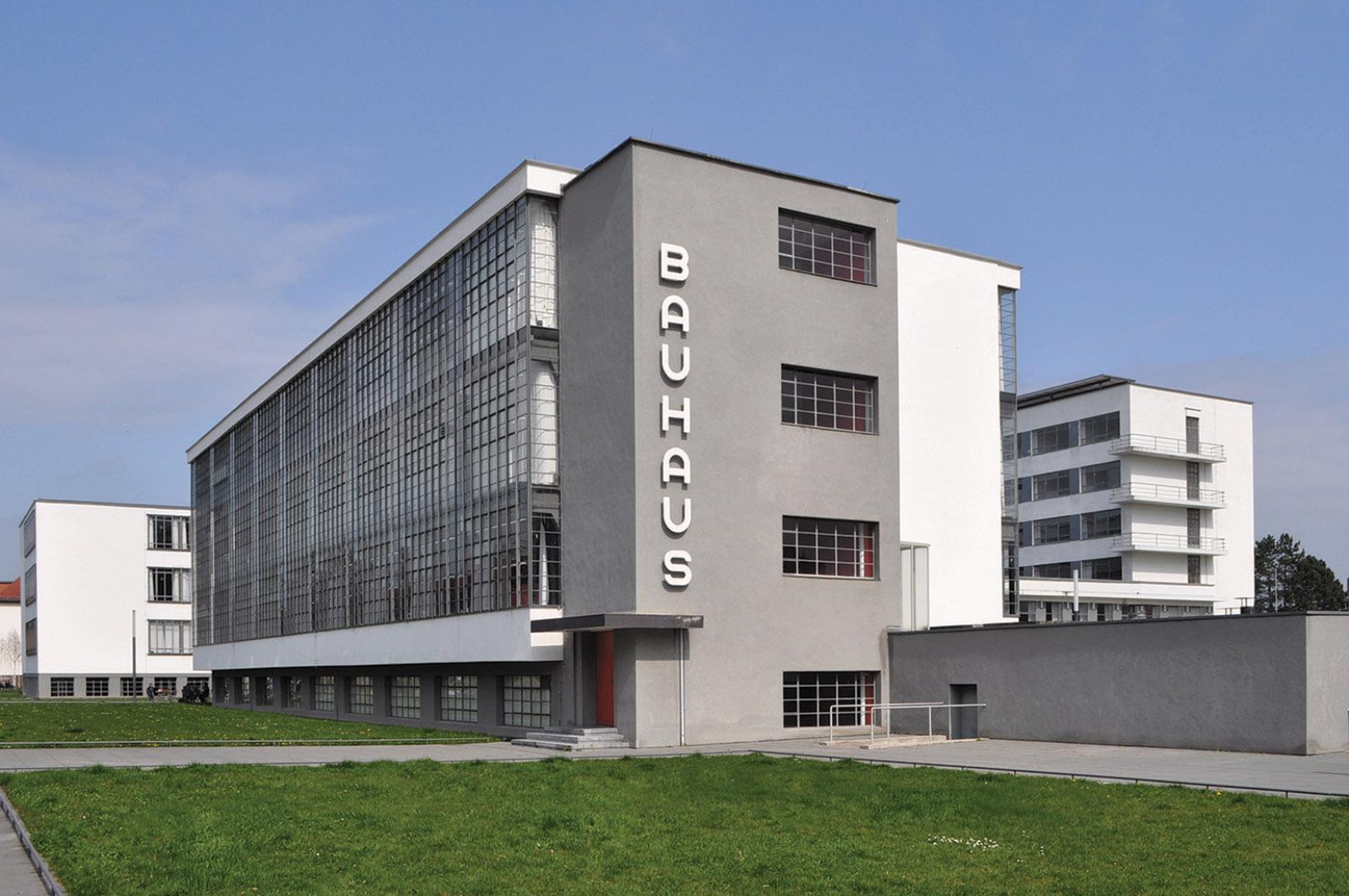 The Bauhaus building