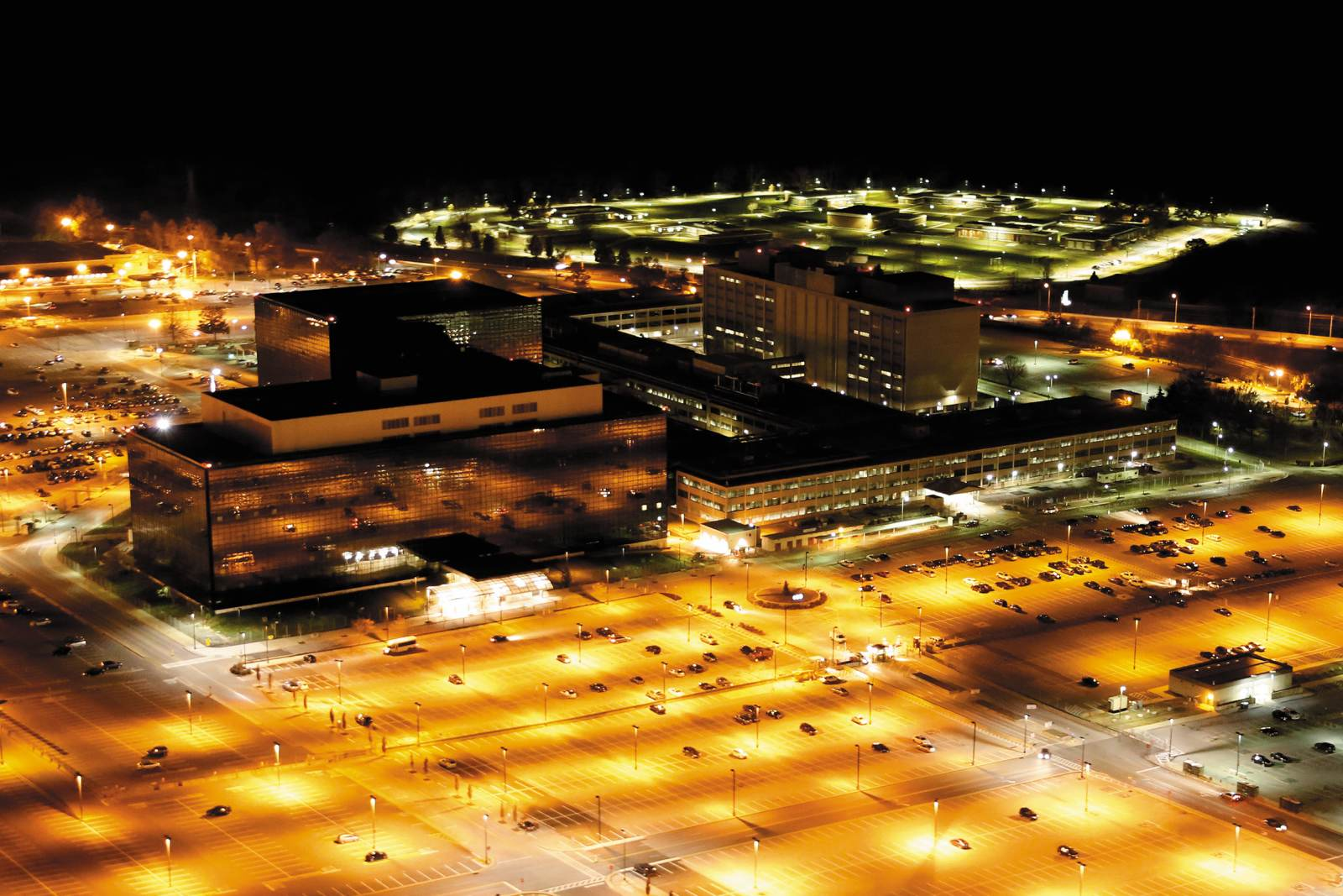 The National Security Agency, Fort Meade, Maryland, 2013; photograph by Trevor Paglen