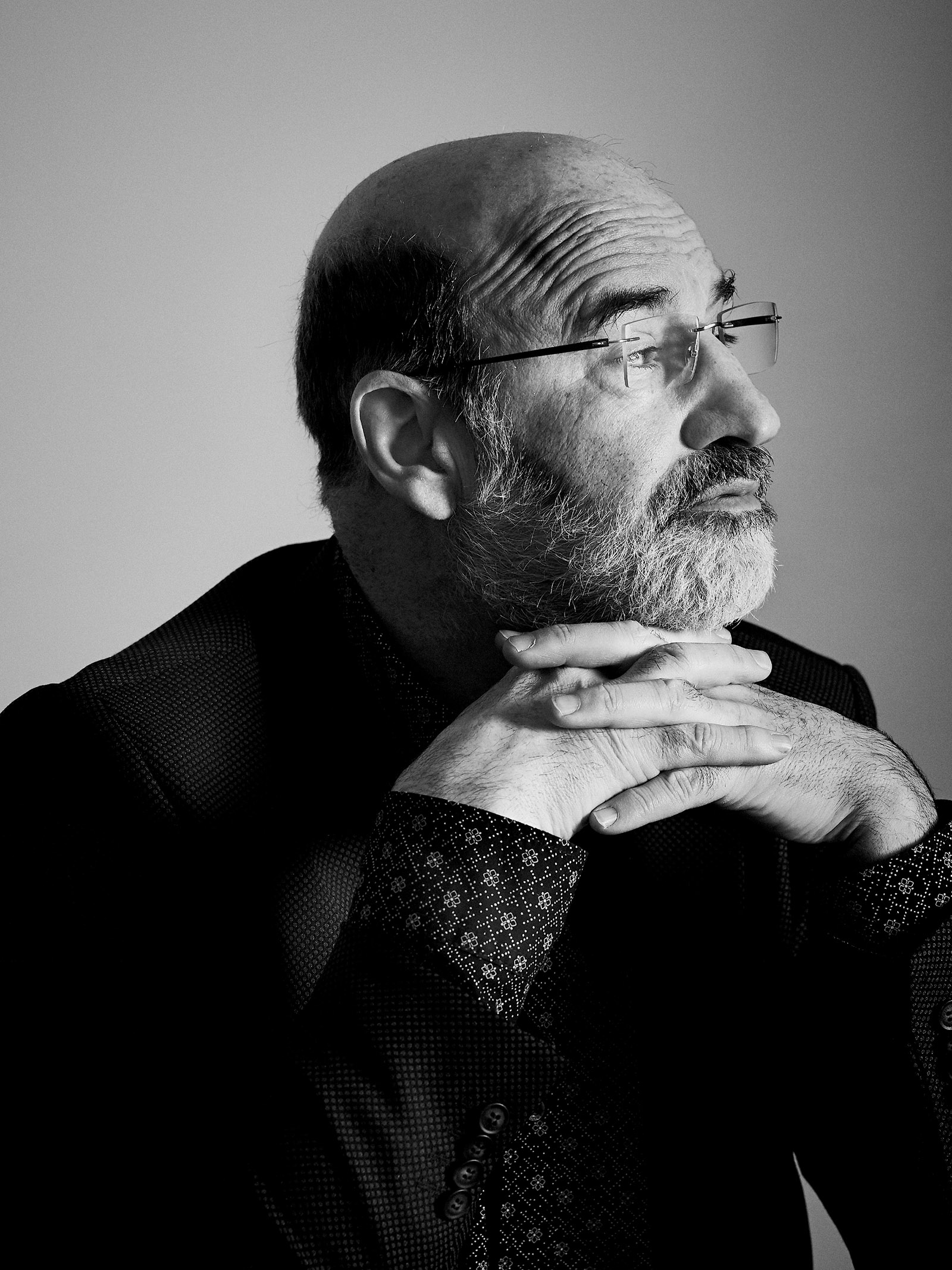 Fernando Aramburu, Madrid, November 2017