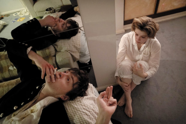 Tom Burke as Anthony and Honor Swinton Byrne as Julie in Joanna Hogg's <i>The Souvenir</i>