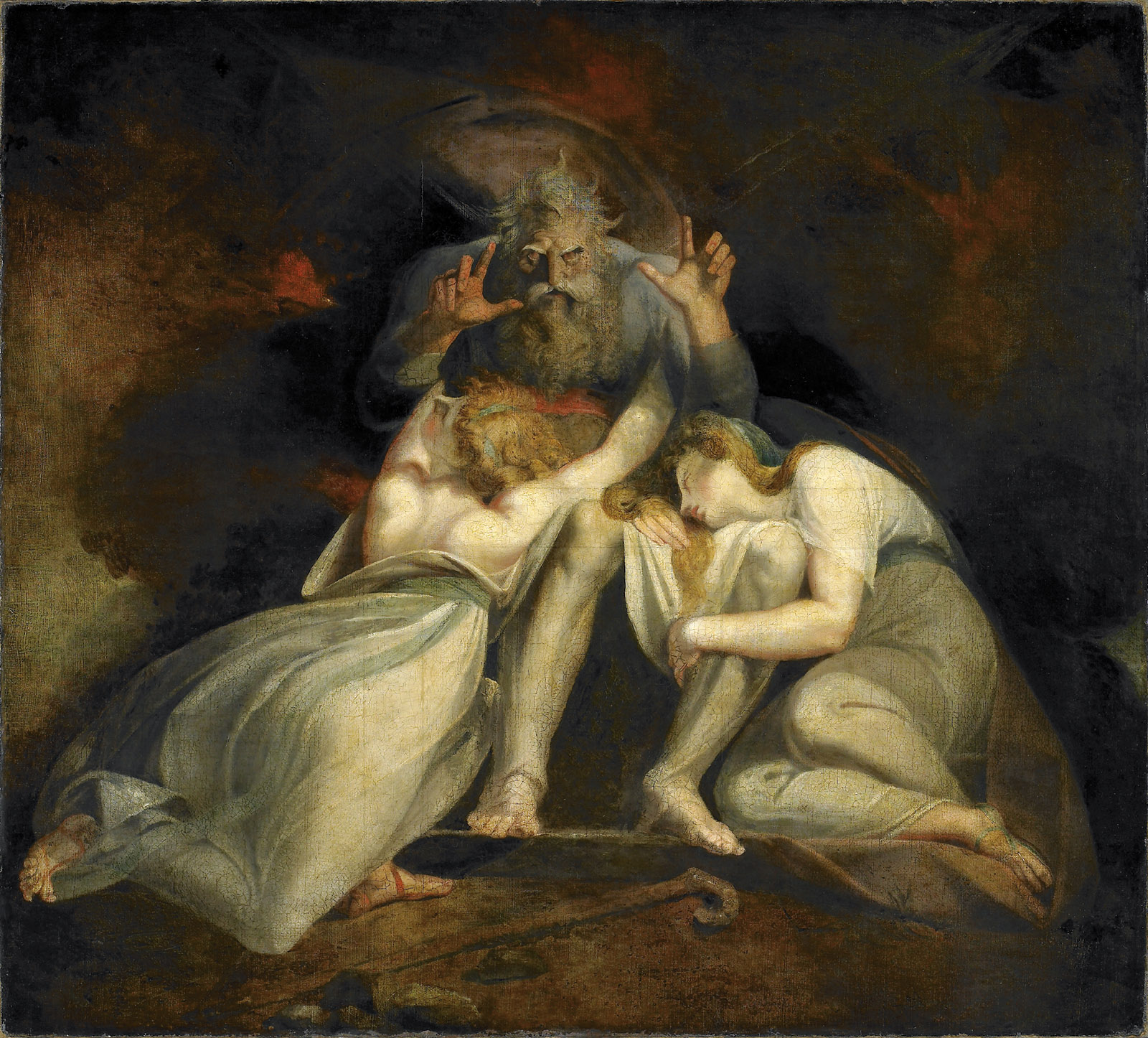 The Death of Oedipus, painting by Henry Fuseli