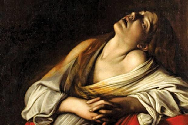 Caravaggio: <i>Mary Magdalene in Ecstasy</i>, 1606