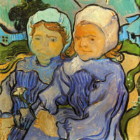 Vincent van Gogh: Two Children, 1890