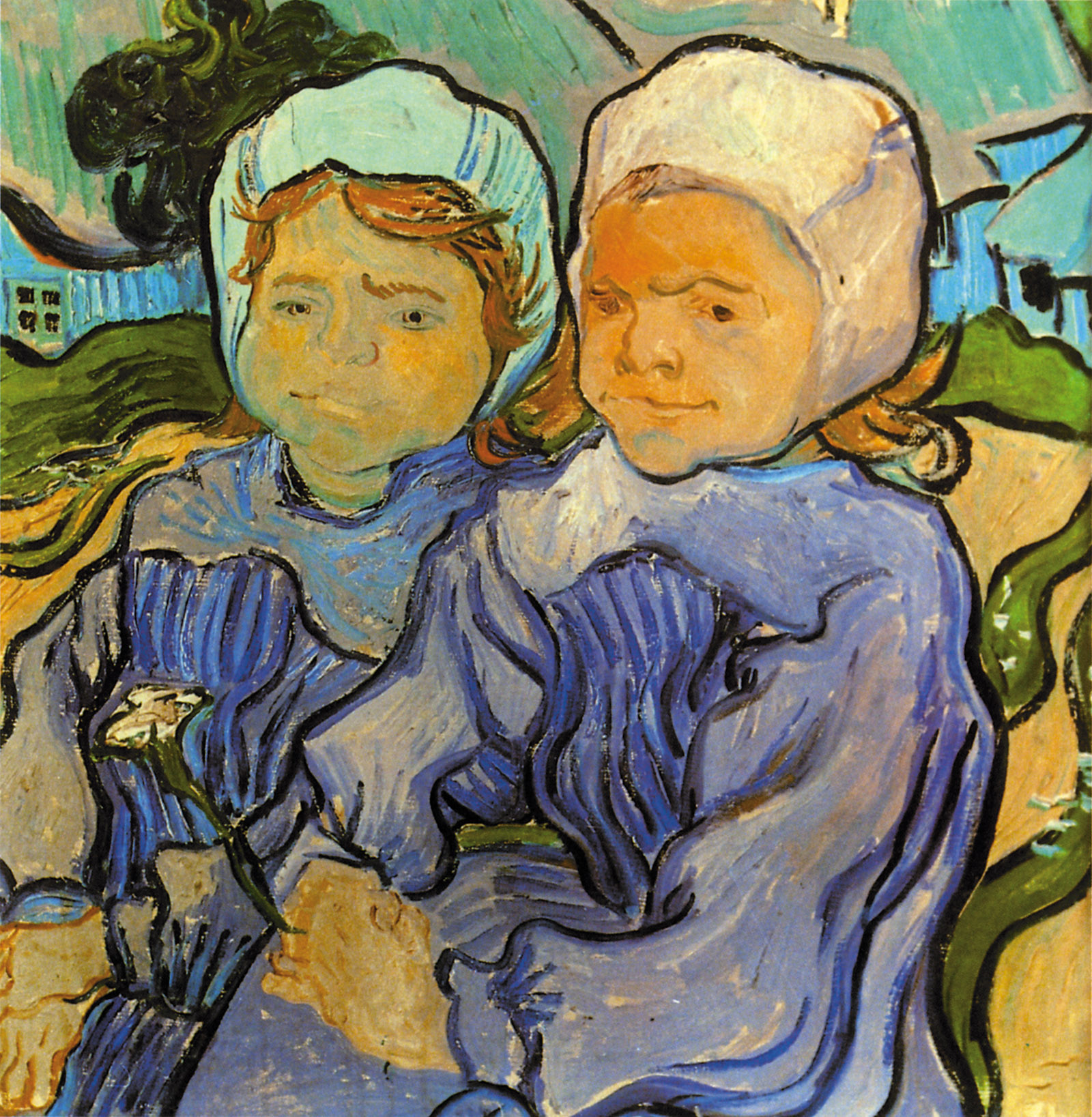 Vincent van Gogh's painting, Two Children