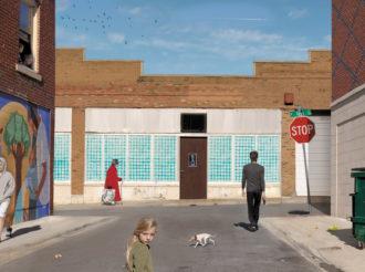 Julie Blackmon: Olive & Market Street, 2012