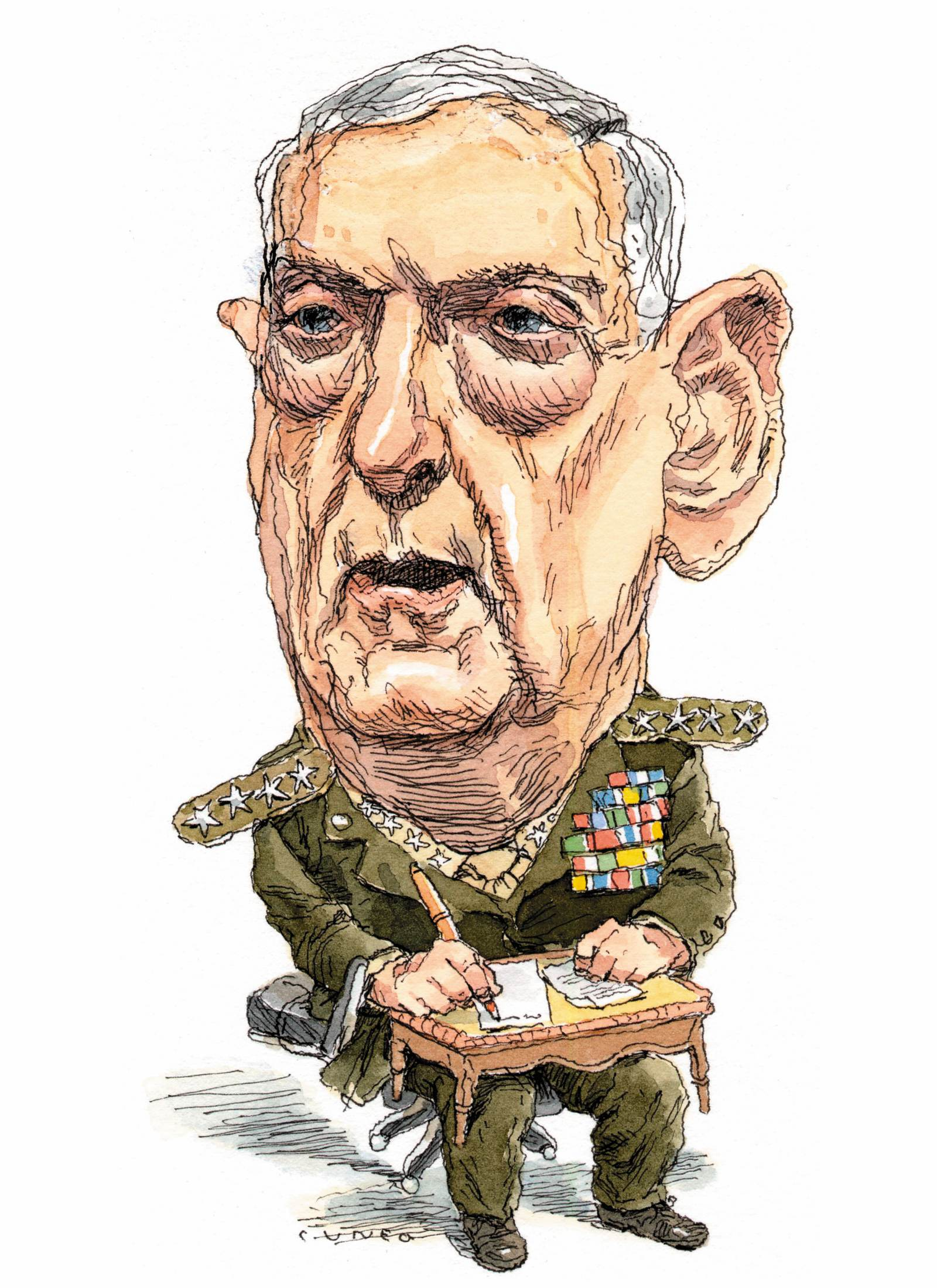 The Defeat of General Mattis