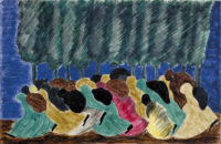 Jacob Lawrence: The Life of Harriet Tubman, #16, 1940