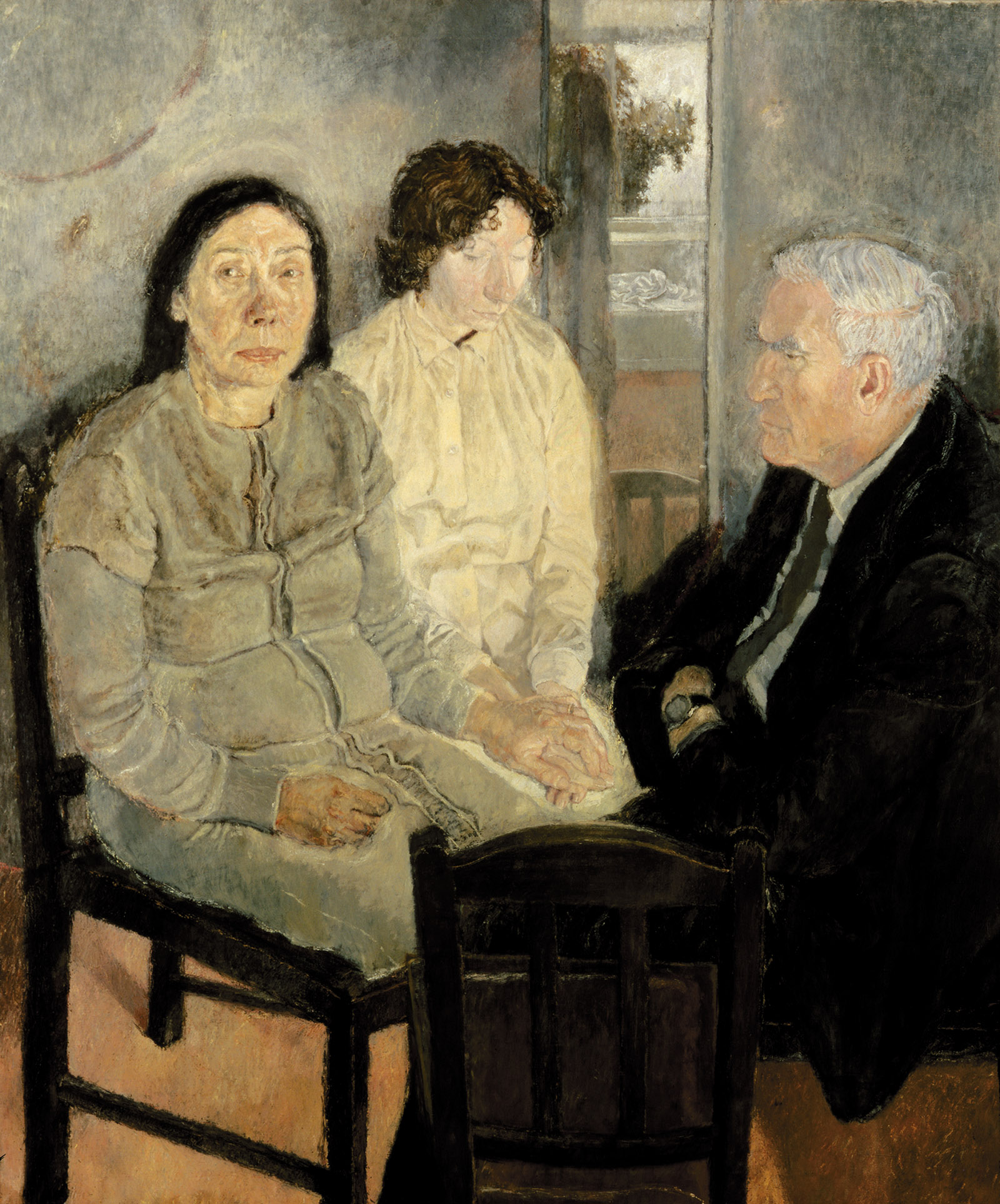 Family Group, 1980; painting by Celia Paul