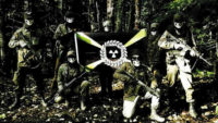 A screenshot from a recruitment video for the American neo-Nazi group Atomwaffen Division, May 2019