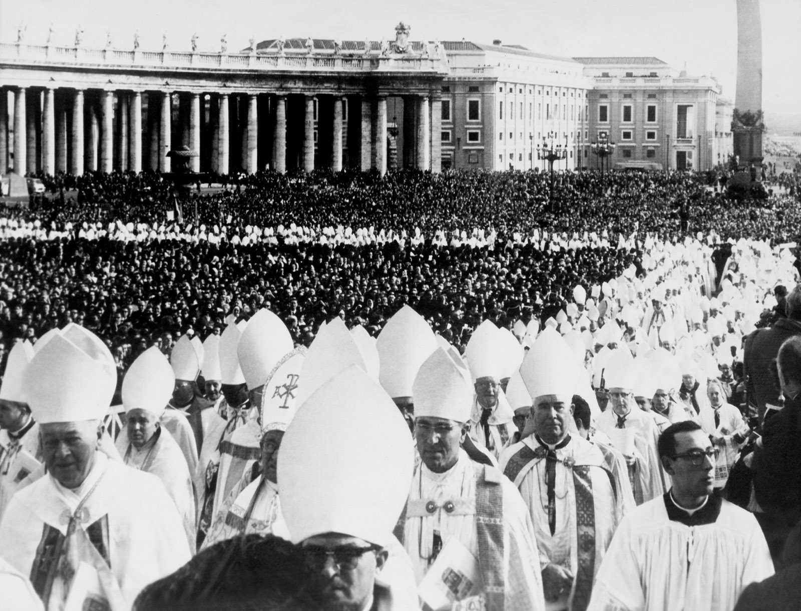 The closing ceremony of the Second Vatican Council, Vatican City, December 1965
