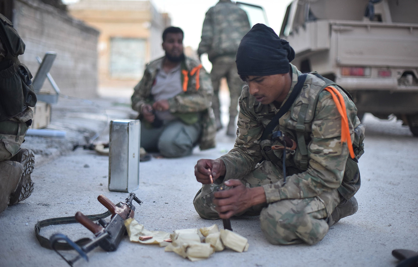 Who Are Turkey's Proxy Fighters in Syria? 22