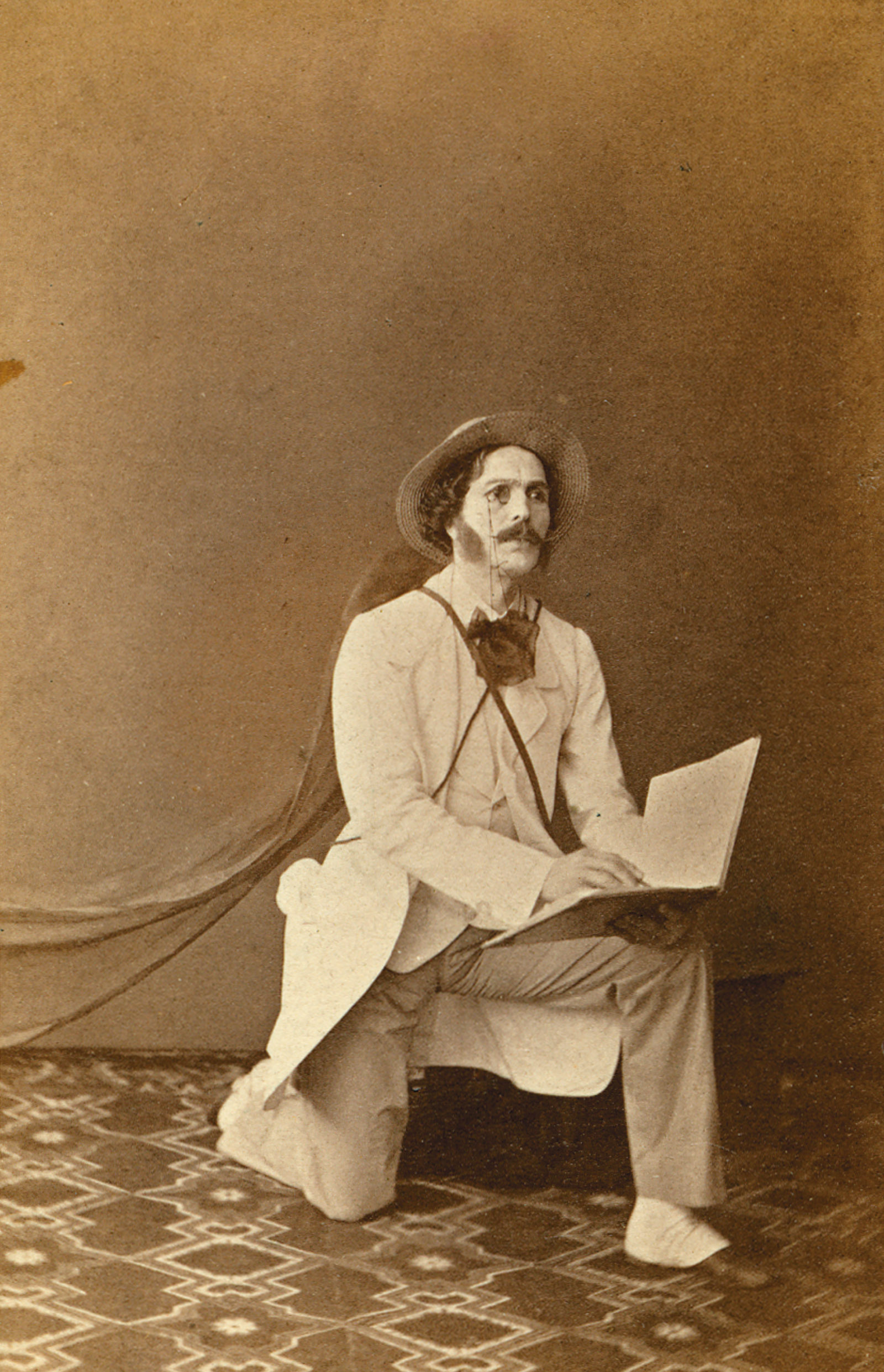 Marius Petipa as Lord Wilson in The Pharaoh's Daughter, 1860s
