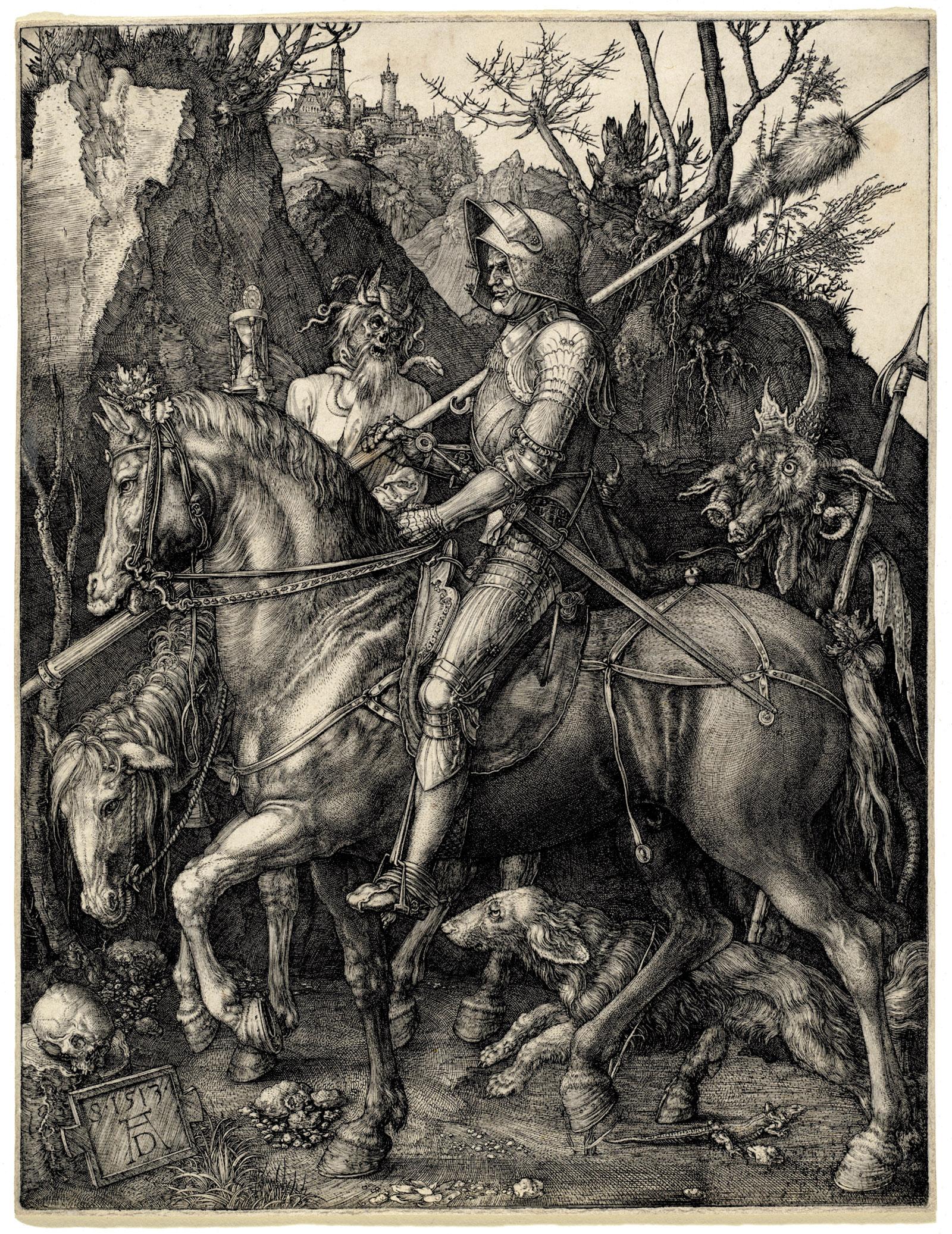 Albrecht Dürer's Knight, Death and the Devil, 1513