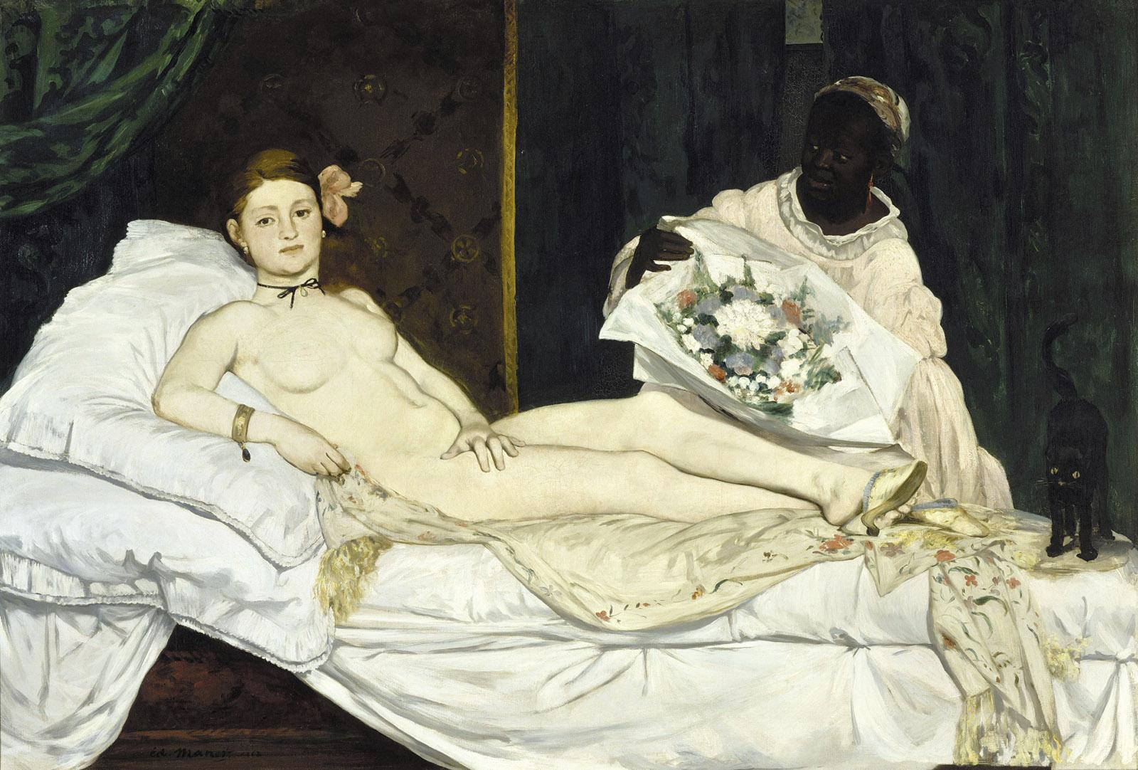Édouard Manet's Olympia, 1863