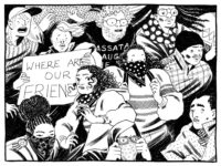 A panel from Eleanor Davis's The Hard Tomorrow, 2019