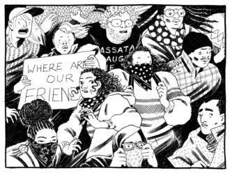 A panel from Eleanor Davis's The Hard Tomorrow, 2019