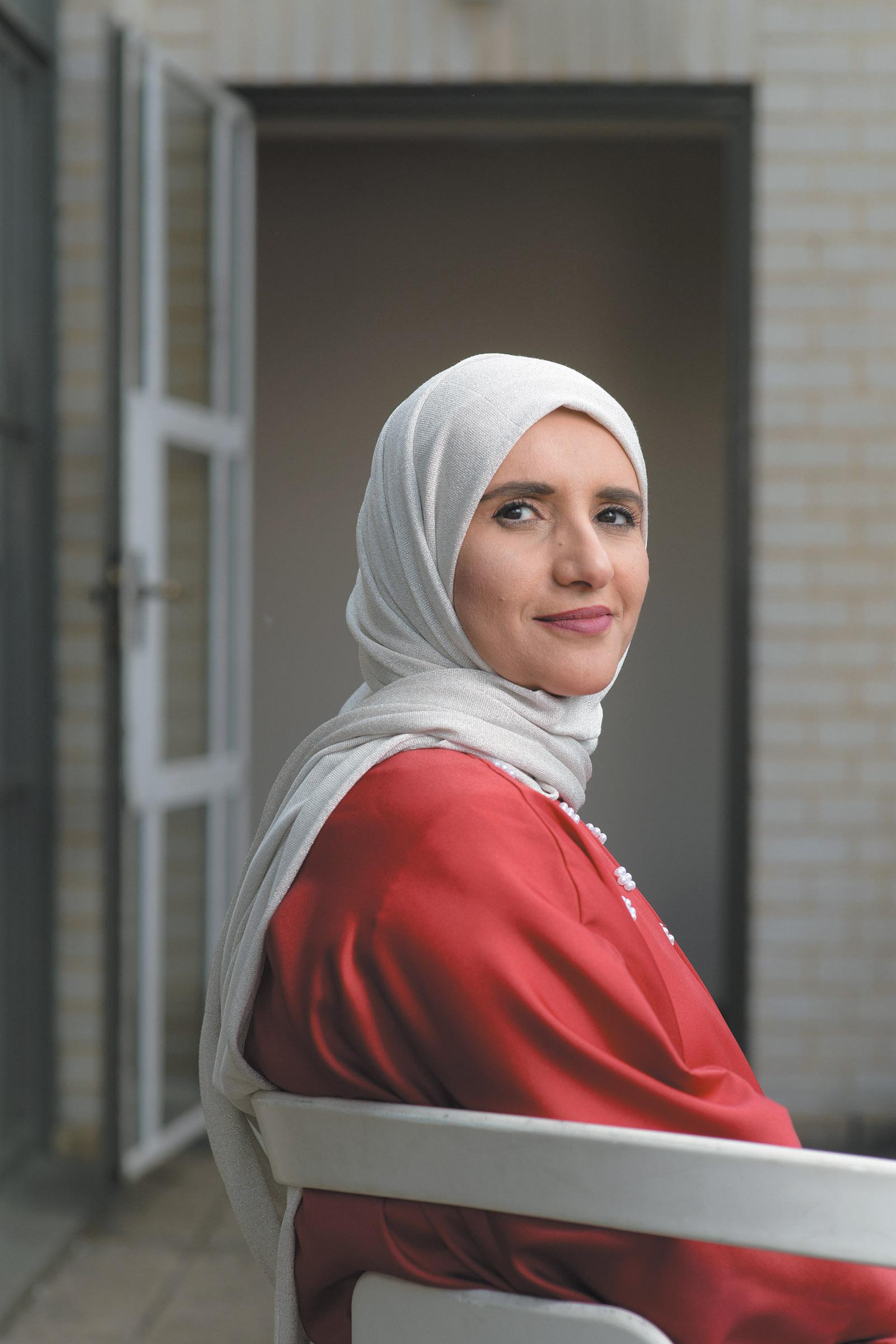 Jokha Alharthi, London, May 2019