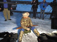 LaVoy Finicum, the only fatality during the Oregon standoff, at the Malheur National Wildlife Refuge, January 2016