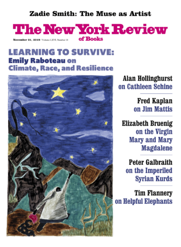 Image of the November 21, 2019 issue cover.