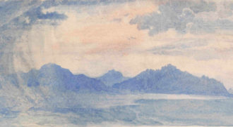 Lausanne (detail), attributed to John Ruskin, undated