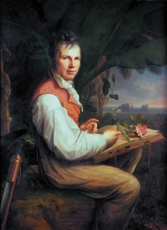 Friedrich Georg Weitsch: Alexander von Humboldt, 1806