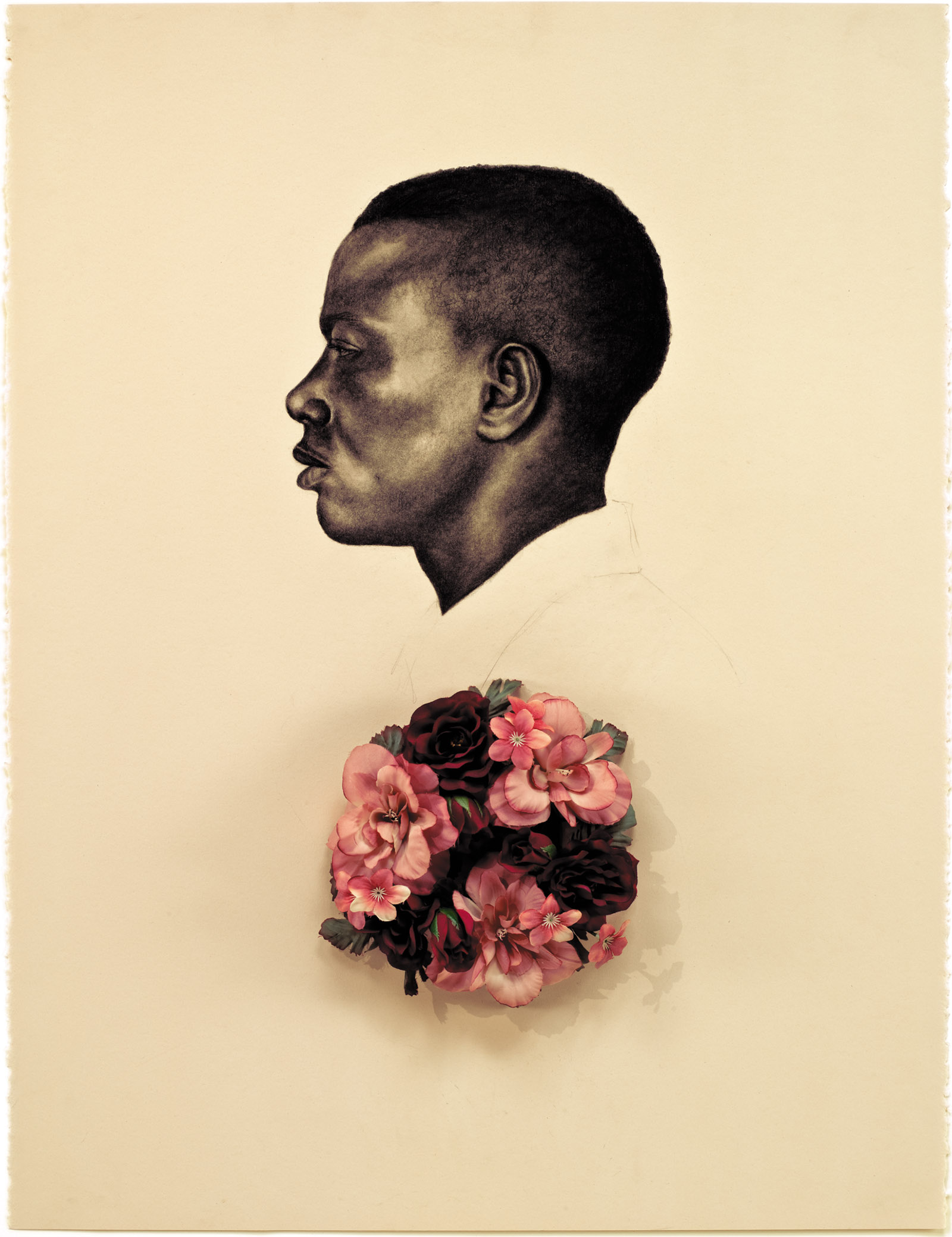 Whitfield Lovell's Kin VII (Scent of Magnolia), 2011;