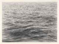 Vija Celmins: Untitled (Ocean), 12 3/4 x 17 1/2 inches, 1970