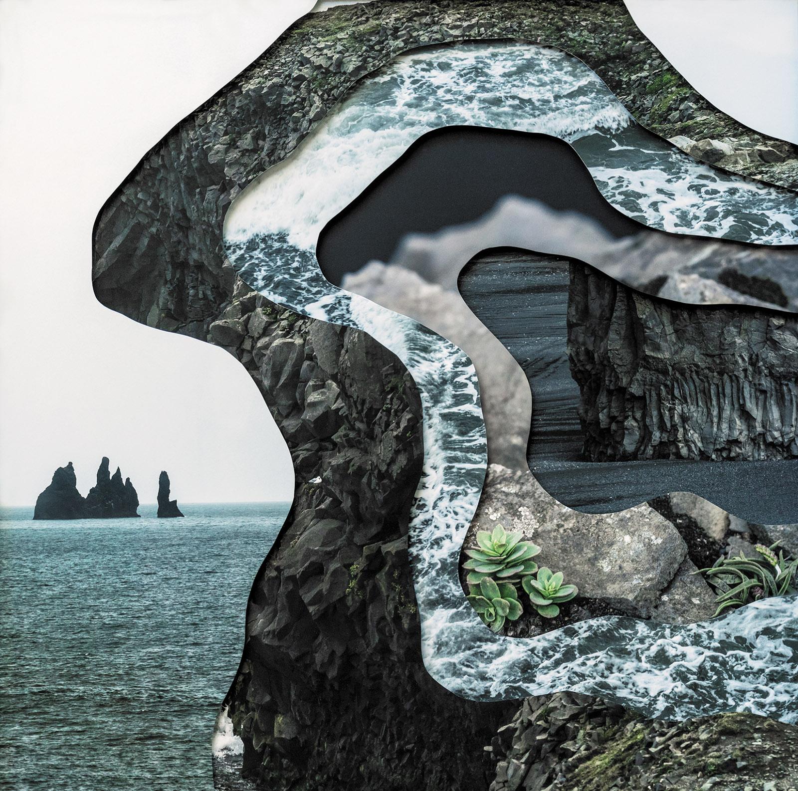Charlotta María Hauksdóttir's Topography Study XVI, 2018; from Hauksdóttir's book A Sense of Place: Imprints from Iceland