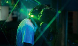 Amadou Mbow as Issa and Mame Bineta Sane as Ada in Mati Diop's Atlantics, 2019